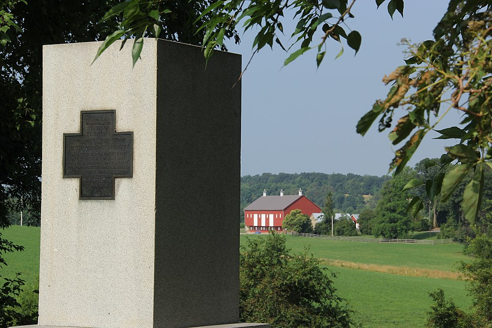 Vermont Monument & Thomas Barn