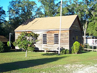 National Register of Historic Places listings in Washington County, Florida - Image: Vernon FL Moss Hill Church 02