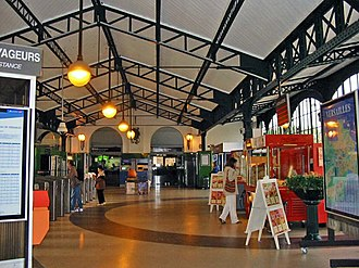 Versailles-Château–Rive Gauche station - Image: Versailles Rive gauche 02