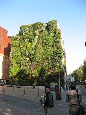 CaixaForum Madrid - Image: Vertical Taken from Paseo de Prado