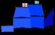 Vice Admirals of the Fleet Flagship English Navy (1596)