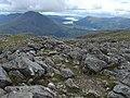 View SW from Beinn Fhionnlaidh - geograph.org.uk - 1263449.jpg