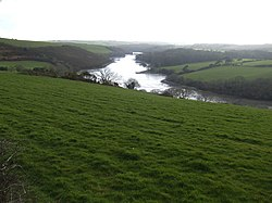 View down to Polwheveral Creek - geograph.org.uk - 370832.jpg