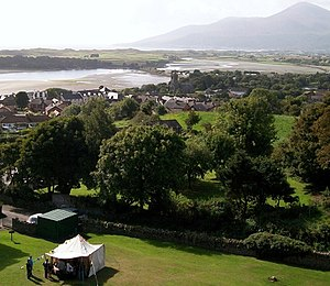 Dundrum, County Down - A view of Dundrum from the castle