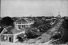View of Honolulu down King from Fort Street in 1855.jpg