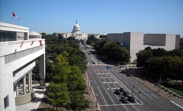 View of landmarks - Newseum terrace.JPG