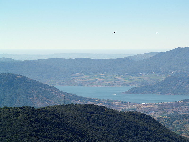 View to Lac du Salagou