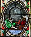 Villamblard église vitrail choeur détail.JPG