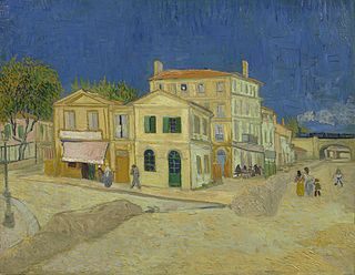 <i>The Yellow House</i> painting by Vincent van Gogh