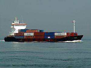 Virtsu p3 approaching Port of Rotterdam 04-May-2006.jpg