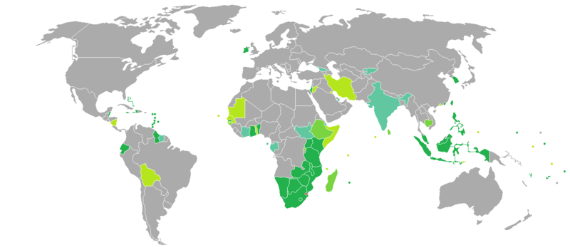 Visa requirements for Swazi citizens.png