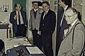 Visite de Mr Bichat et du secrétaire d'état à la recherche à l'INRA de Versailles-3-cliche Jean Weber.jpg