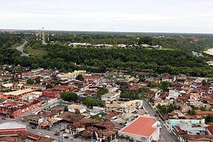 Porto Seguro - Image: Vista área de Porto Seguro 01