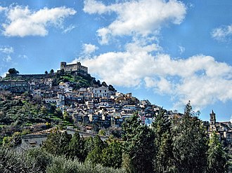 Santa Lucia del Mela - Image: Vista Santa Lucia del Mela
