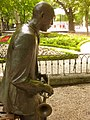 Vitoria - Parque de la Florida, estatua de Wynton Marsalis.jpg