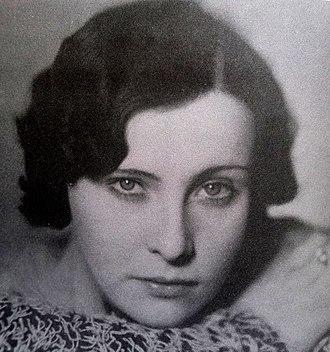 Vlasta Fabianová - Image: Vlasta Fabianová 1930