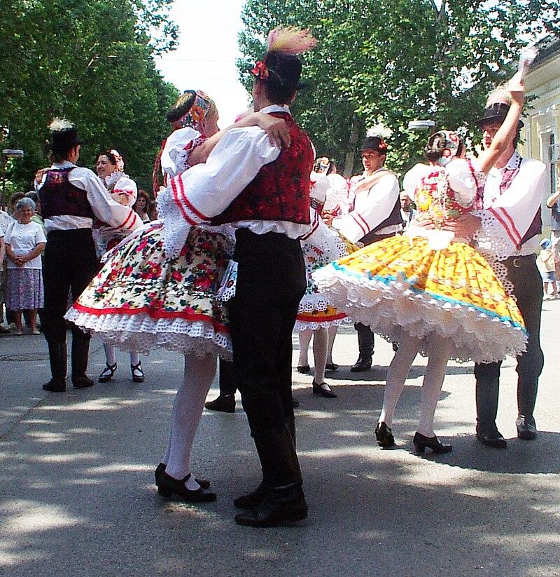 Voivodina Hungarians national costume and dance 6.jpg