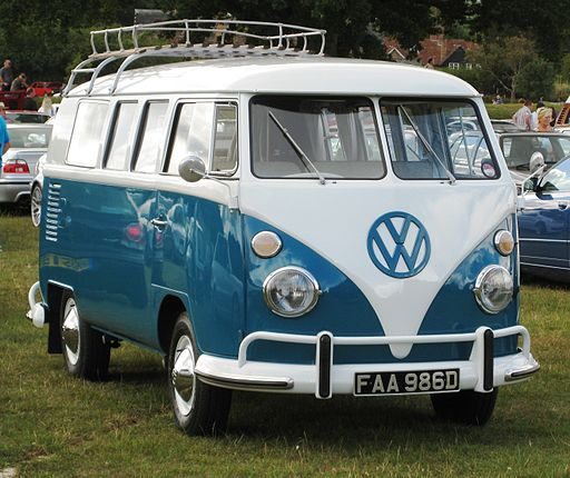 Volkswagen Typ 2 late split screen version April 1966