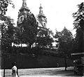 Volodimir Vinnicsenko utca, karmelita templom. Fortepan 62595.jpg