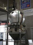 Vostok spacecraft replica