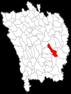 Vutcani Commune in Vaslui, Romania