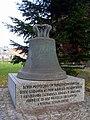 Wągrowiec - dzwon poświęcony św. Wawrzyńcowi.JPG