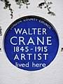 WALTER CRANE 1845-1915 ARTIST lived here.jpg