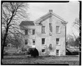 WEST ELEVATION - Jansonist Colony, Administration Building, Johnson and Main Streets, Bishop Hill, Henry County, IL HABS ILL,37-BISH,17-3.tif