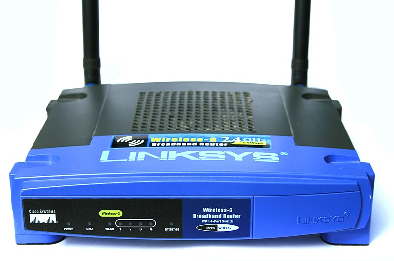 File:WRT54G v2 Linksys Router Digon3.jpg