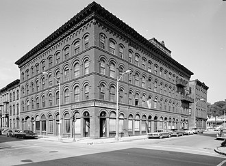 W. & L. E. Gurley Building - Image: W L E Gurley Building HAER cropped