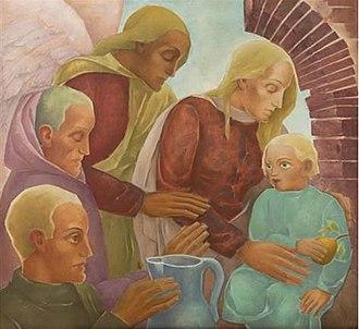 Aloys Wach - Image: Wach Christ