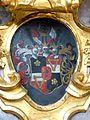 Waidhofen Thaya Pfarrkirche - Hochaltar 8b Wappen.jpg