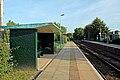 Waiting shelter, Pen-y-ffordd railway station (geograph 4032631).jpg