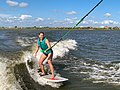 Wakesurfing, Slidell Louisiana, 24 May 2020 - 09.jpg