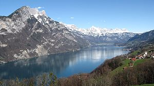 Walensee from Kerenzerberg to East