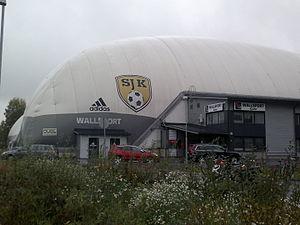 Seinäjoen Jalkapallokerho - Wallsport Areena, indoor training facility of SJK