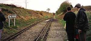 Wymondham to Wells Branch - Looking towards Wells, 1990s