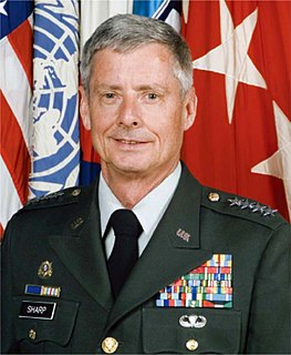 Walter L. Sharp US Army general