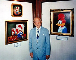 Walter Lantz American cartoonist, animator, film producer, and director