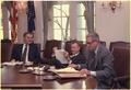 Walter Mondale, Zbigniew Brzezinski and Cyrus Vance - NARA - 182566.tif