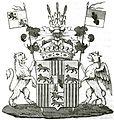 Wappen der Grafen Sylva-Tarouca-Unwerth 1837.jpg