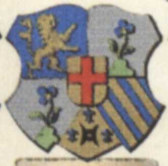 Bernhard Boll - Boll's coat of arms as bishop