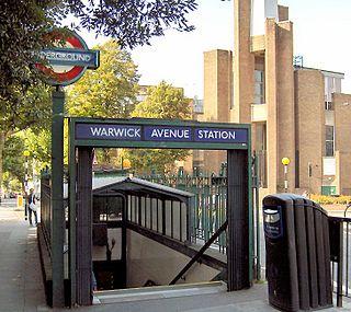 Warwick Avenue tube station London Underground station