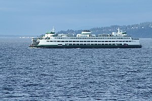Washington State Route 104 - Image: Washington State Ferry 6415