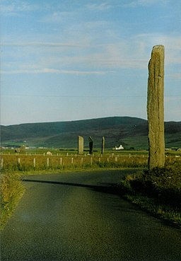 Watch Stone, Stenness - geograph.org.uk - 400124