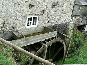 The Old Bakery, Manor Mill & Forge - Manor Mill water wheel