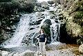 Waterfall in Glen Kyllachy - geograph.org.uk - 263576.jpg