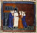 Wedding of Louis X of France and Clemance Hongrie (1315).jpg