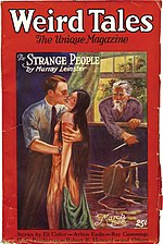 Weird Tales cover image for March 1928