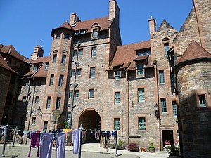 Dean Village - Well Court, Edinburgh